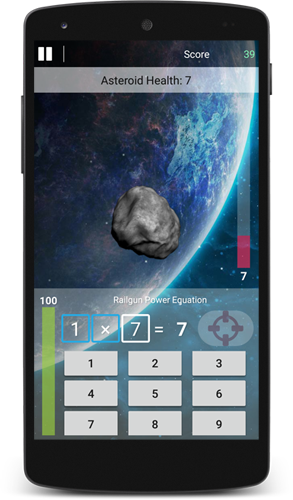 Asteroid Defense Brain Game